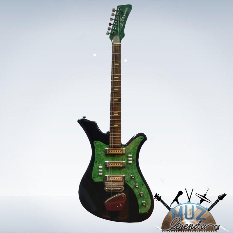 Электро гитара АЭЛИТА хорошее косметическое состояние не работает электроника