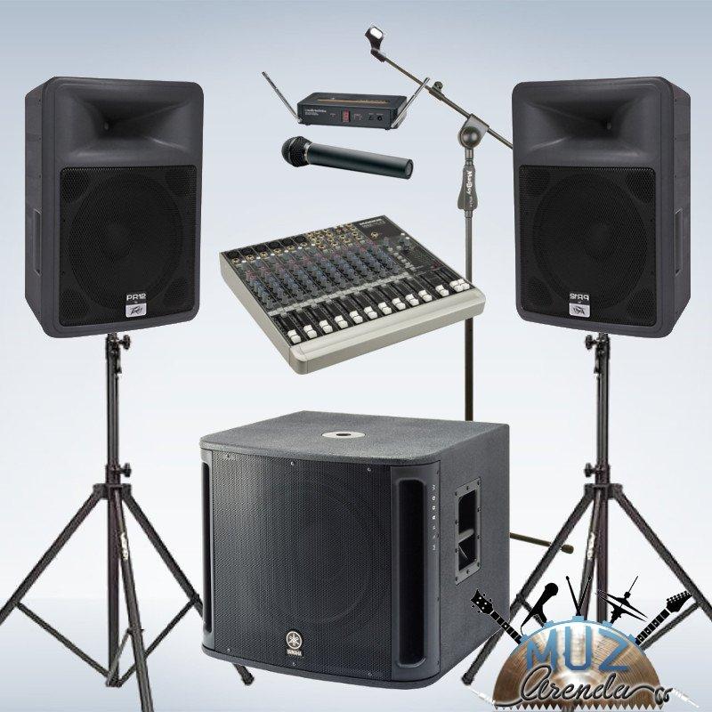 Комплект рассчитан на небольшое мероприятие до 50 человек: свадьба, корпоратив, презентация, выставка, детский праздник.Часто используется в качестве мониторов для ди-джеев и музыкантов.