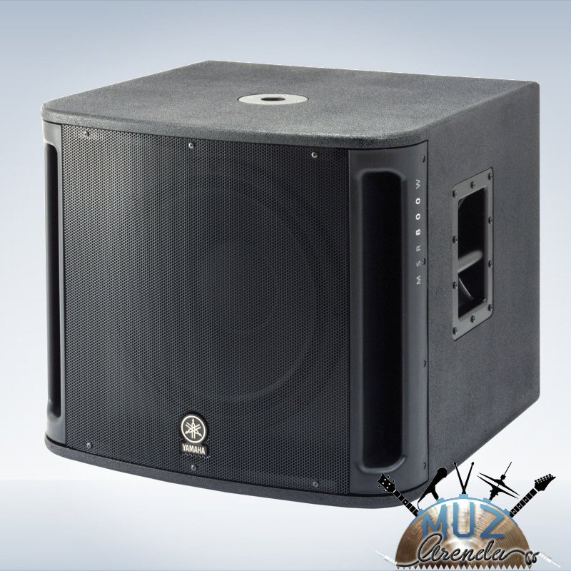 """Сабвуфер, конический НЧ драйвер 15"""", bass reflex, частотный диапазон 40-120 Гц, выходная мощность 500 Вт"""